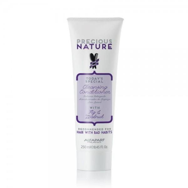 Alfaparf Precious Nature Bad Hair Habits tisztító kondicionáló rakoncátlan, nehezen kezelhető hajra, 250 ml