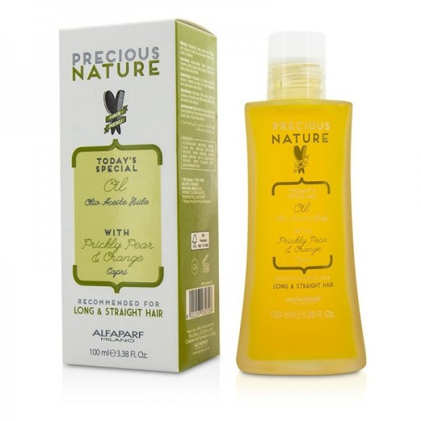Alfaparf Precious Nature Long and Straight simító olaj hosszú, egyenes hajra, 100 ml