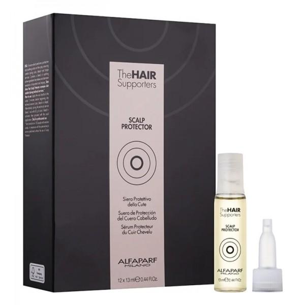 Alfaparf The Hair Supporters Scalp Protector fejbőrvédő ampulla, 12x13 ml