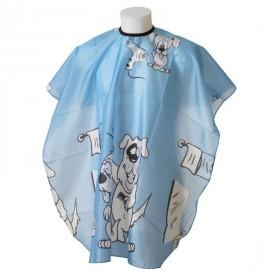 Bratt kék Plútó kutyás gyerek hajvágókendő