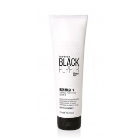 Inebrya Black Pepper Iron hajegyenesítő, hővédő hajban hagyható hajpakolás, 250 ml