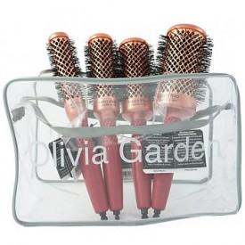 Olivia Garden Heat Pro Ceramic+Ion körkefe szett
