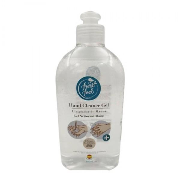 Feel Fresh kézfertőtlenító gél 70% alkoholtartalommal, 500 ml