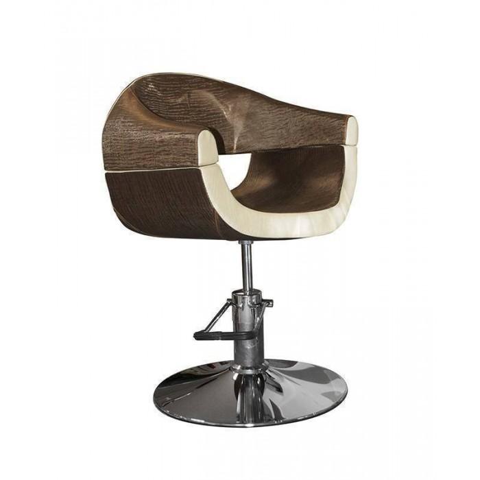 Stella szatén barna bézs hidraulikus fodrász szék SX 2107 |Árak|Vélemények|Hajpatika