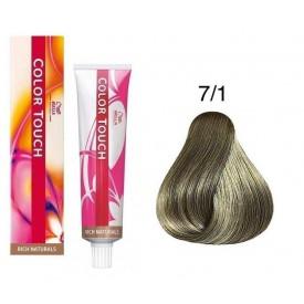 Wella Professionals Color Touch tartós hajszínező 7/1